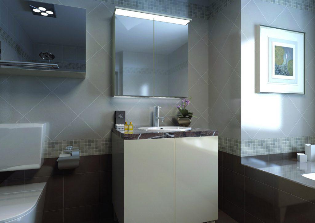 lustro do łazienki lustra z led
